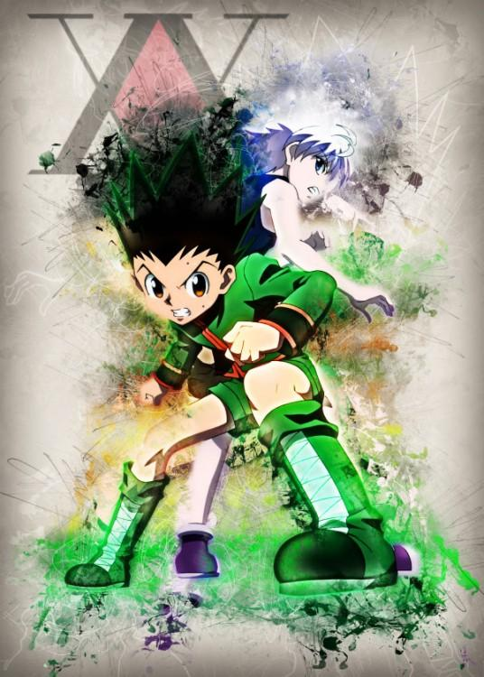 RAPTURE- Magnetic Metal Poster 45x32 - Hunter X Hunter