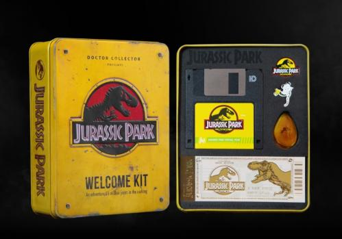 JURASSIC PARK - Welcome kit amber edition