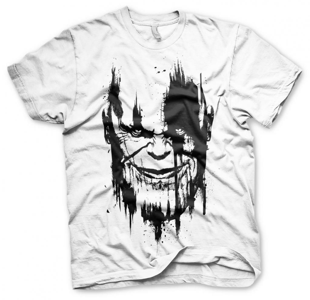 AVENGERS Infinity War - T-Shirt Thanos - White (S)