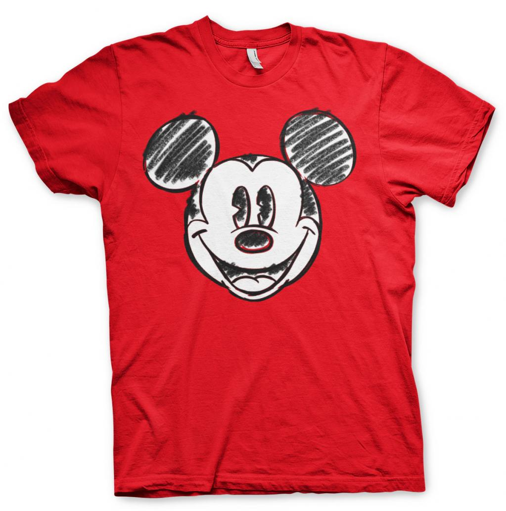 DISNEY - T-Shirt - Mickey Mouse Pixelated Sketch (S)