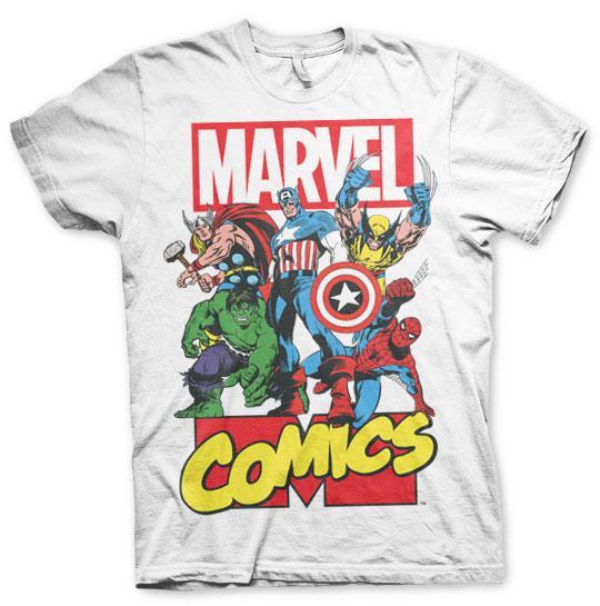 MARVEL COMICS - Retro Logo - T-Shirt (XL)_1