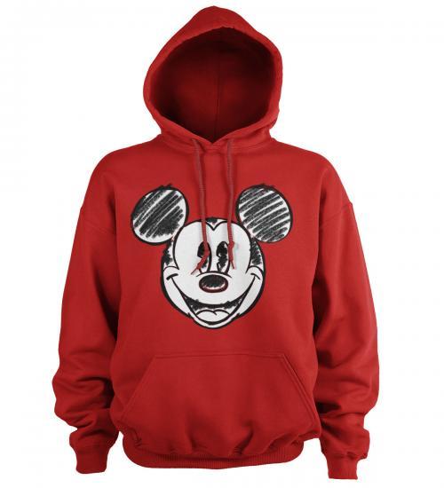 DISNEY - Hoodie - Mickey Mouse Pixelated Sketch (M)