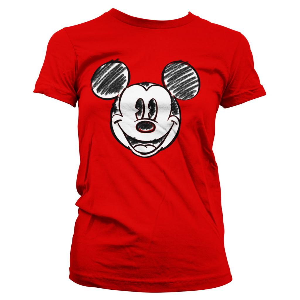 DISNEY - T-Shirt GIRLY - Mickey Mouse Pixelated Sketch (S)