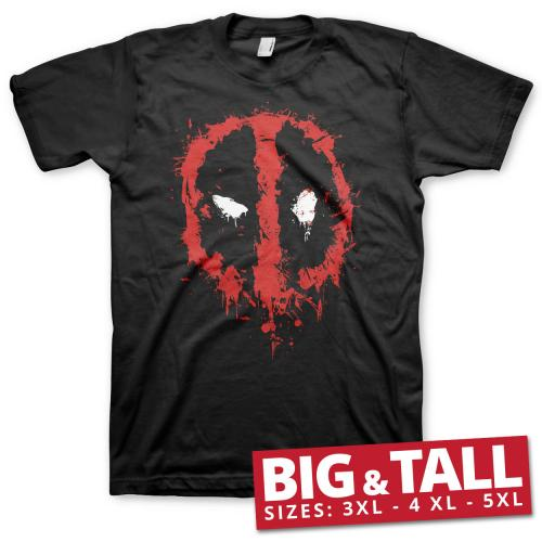 MARVEL - T-Shirt Big & Tall - Deadpool Splash (4XL)