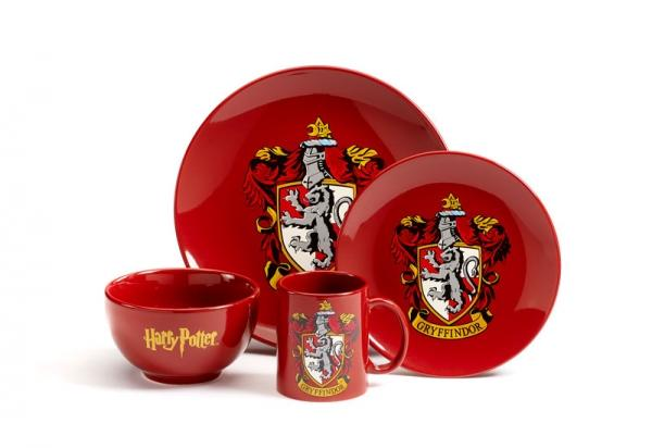 HARRY POTTER - Dinner Set 4 Pces - Gryffindor_1