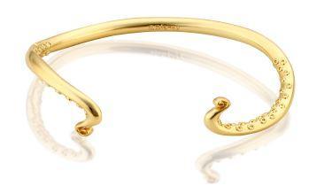 LA PETITE SIRENE - Bracelet Ursula 'Yellow Gold Plated'