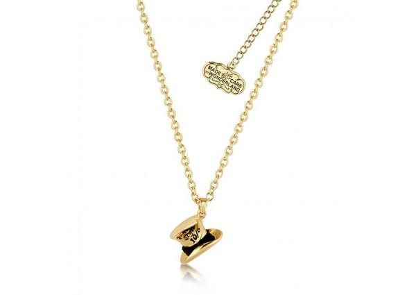 ALICE IN WONDERLAND - Chapelier Fou Collier 'Gold Plated'