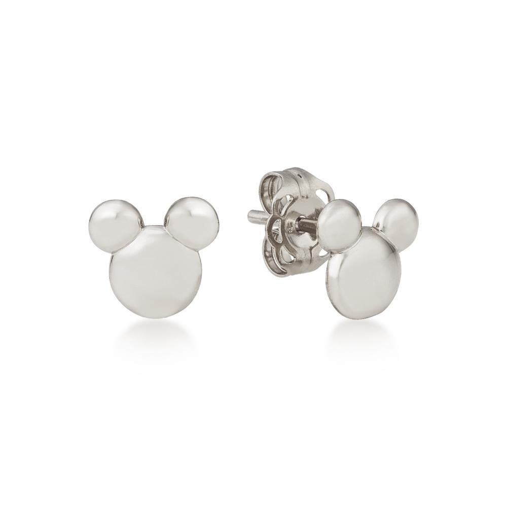 DISNEY METAL PRECIOUS - Solid Mickey Earrings 'Sterling Silver'