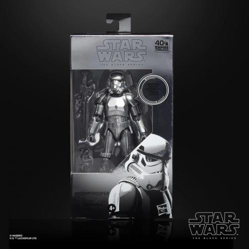 STAR WARS - Carbonized Stormtrooper 2020 - Figurine Black Series 15cm