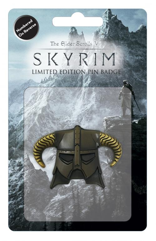 SKYRIM - Dragonborn Helmet - Pin's édition limitée