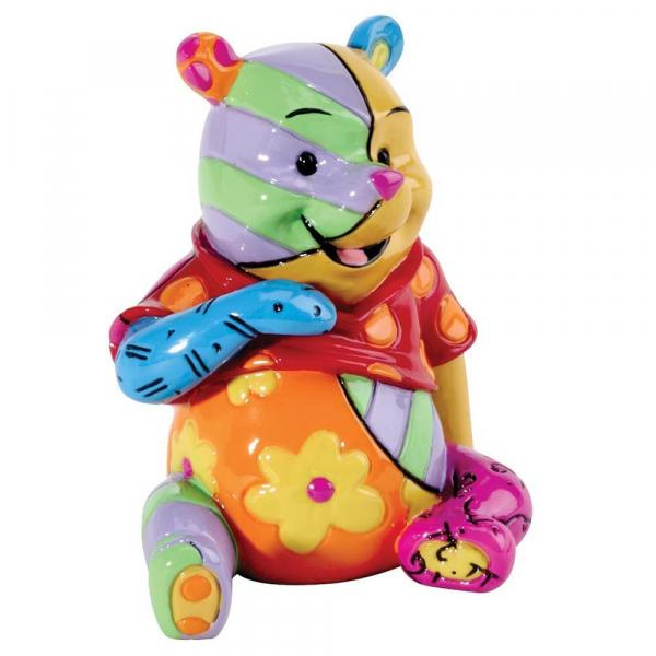 DISNEY Britto - Mini Figurine Winnie l'Ourson - '6.5x7.5x6.5'