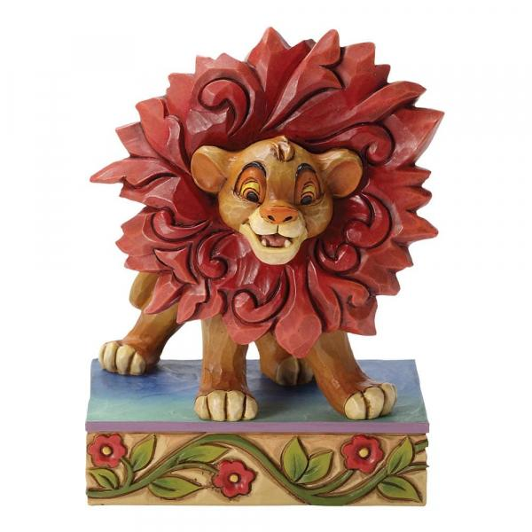DISNEY Traditions - Simba - Just Can't Wait to be King - '10x7.5x5'