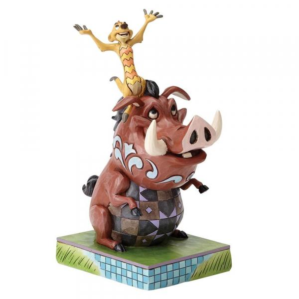 DISNEY Traditions - Timon & Pumbaa - Carefree Cohorts - '18x8x13'