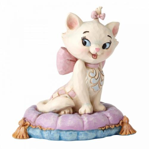 DISNEY Traditions - Marie on Pillow - Figurine '7x6x7'