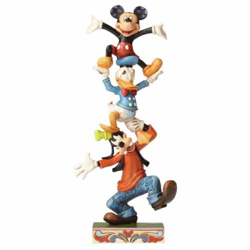 DISNEY Traditions - Goofy Donald & Mickey - '22x6x10'