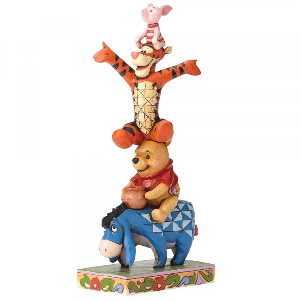 DISNEY Traditions - Bourriquet Porcinet Tigrou & Winnie - '25.5x12x9'