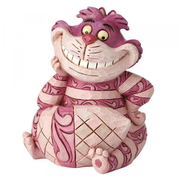 DISNEY Traditions - Chat du Cheshire Mini Figurine - '8x7x6.5'