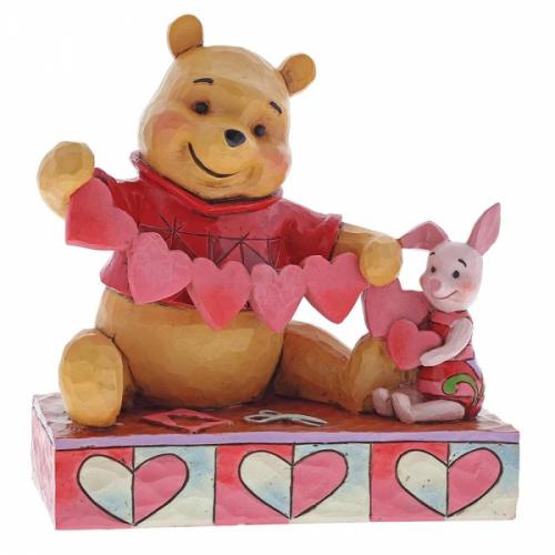 DISNEY Traditions - Winnie & Porcinet - '14x7x13.5'