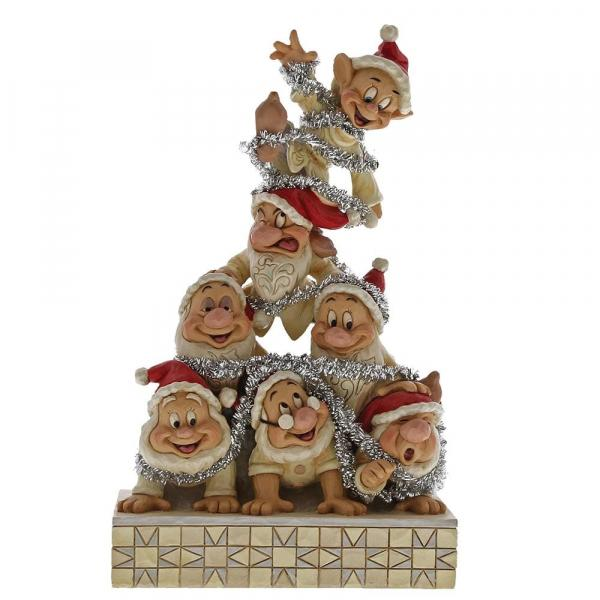 DISNEY Traditions - Les 7 Nains Precarious Pyramid - '21x12x8'