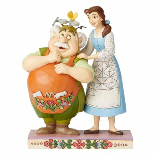 DISNEY Traditions - Belle & Maurice - Devoted Daughter - 13cm