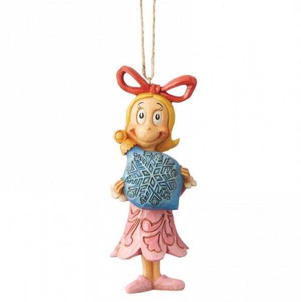 GRINCH - Figurine à suspendre - Cindy Lou with Ball '11.5x4x4.5'