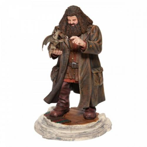 HARRY POTTER - Hagrid and Norberta - Figurine 25cm