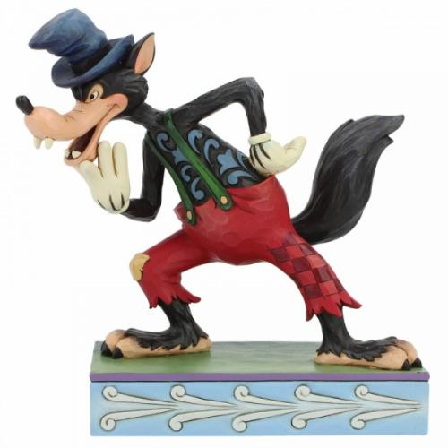 DISNEY Traditions - I'll Huff & I'll Puff! - Figurine '16x7x16'