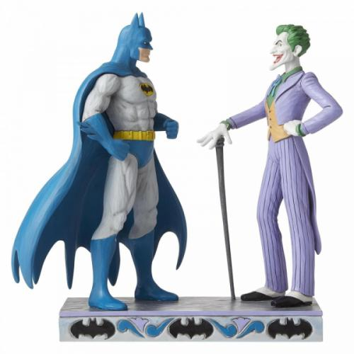 DC COMICS - Batman & The Joker - Figurine '23.5x12x23'