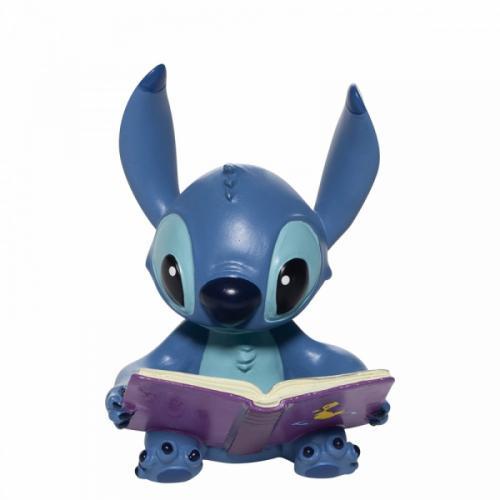 DISNEY Traditions - Stitch Book - Figurine '6x6x9'
