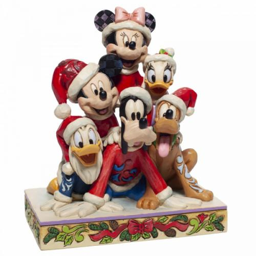 DISNEY Traditions - Holiday Cheer - Figurine '15x9x13'