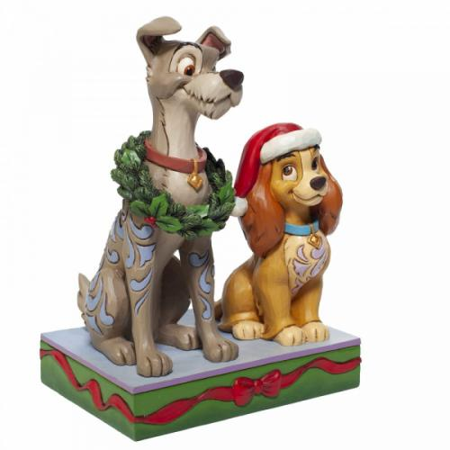 DISNEY Traditions - Decked out Dogs - Figurine '17x12x9'