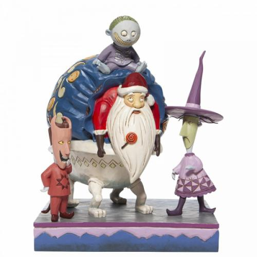 DISNEY Traditions - Lock, Shock & Barrel - Figurine '23x19x16.5'