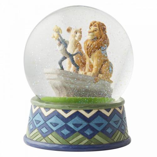 DISNEY Traditions - Le Roi Lion - Boule à neige '18x15x15'