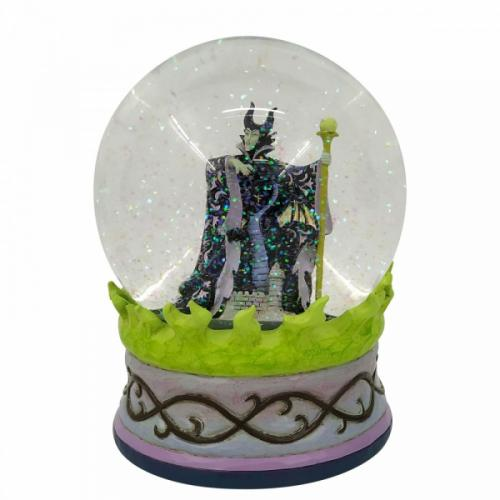 DISNEY Traditions - Maleficent - Boule à neige '14.5x15x15'