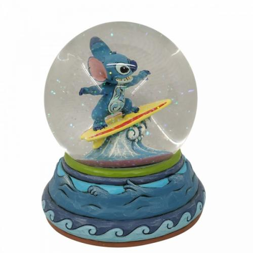 DISNEY Traditions - Stitch - Boule à neige '13x13x13'