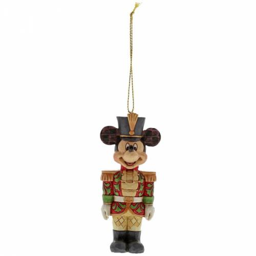 DISNEY - Décoration à suspendre - Mickey Mouse Nutcracker - '9x3x4'