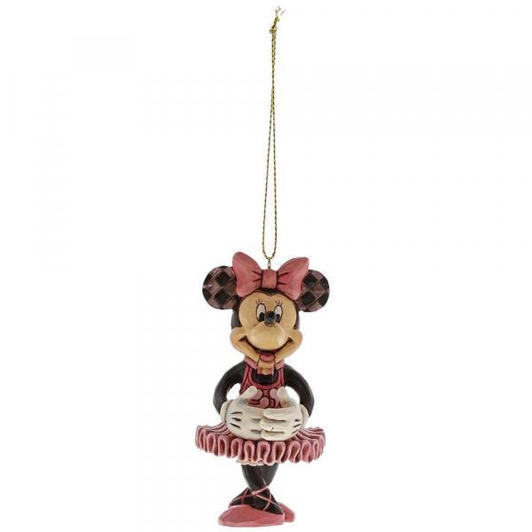 DISNEY - Décoration à suspendre - Minnie Mouse Nutcracker - '9x3x4'