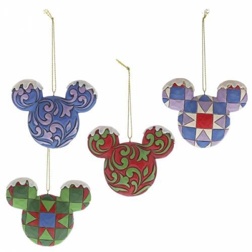 DISNEY - Set Décorations à suspendre - Tête de Mickey Mouse - '7x2x8'