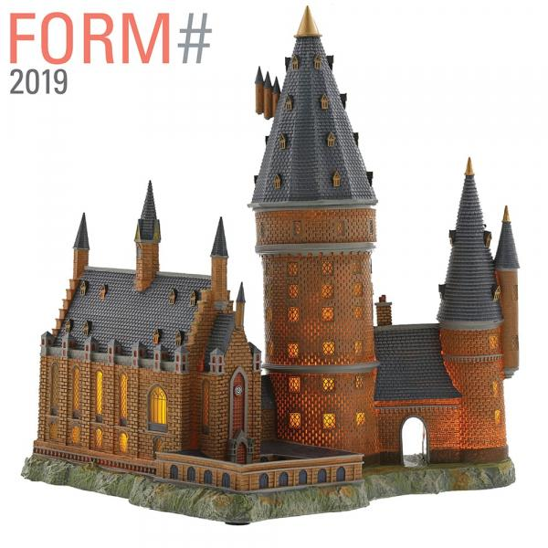 HARRY POTTER - Poudlard Great Hall & Tower - 33cm