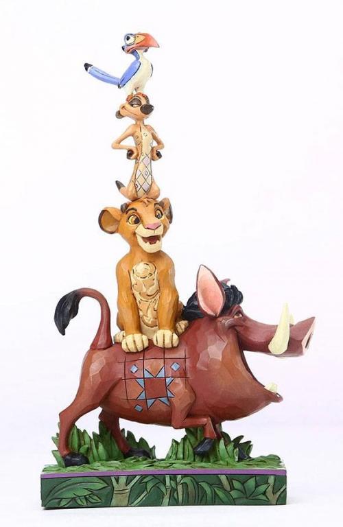 DISNEY - Le Roi Lion - Personnages Empilés - Statuette 20cm