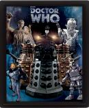 DOCTOR WHO - 3D Lenticular Poster 26X20 - Aliens