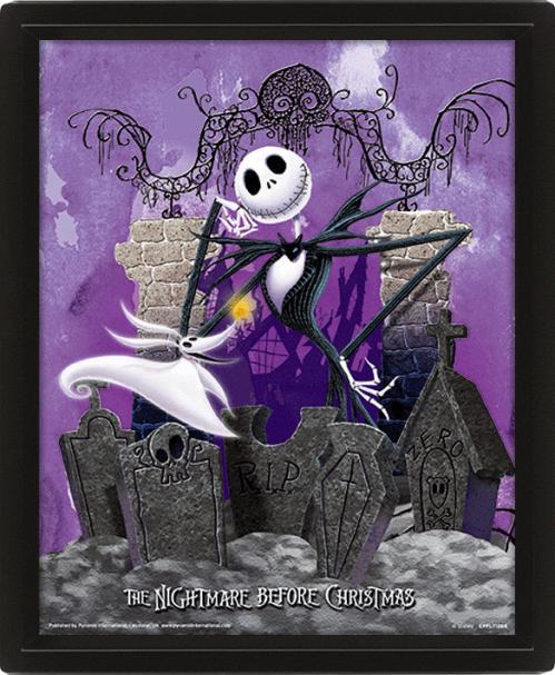 NBX - 3D Lenticular Poster 26X20 - Graveyard