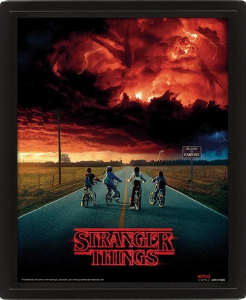STRANGER THINGS - 3D Lenticular Poster 26X20 - Mind Flayer
