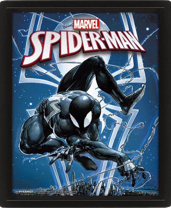 MARVEL - 3D Lenticular Poster 26X20 - Spiderman / Venom
