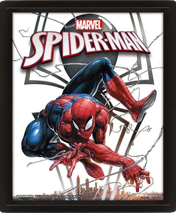MARVEL - 3D Lenticular Poster 26X20 - Spiderman / Venom_2