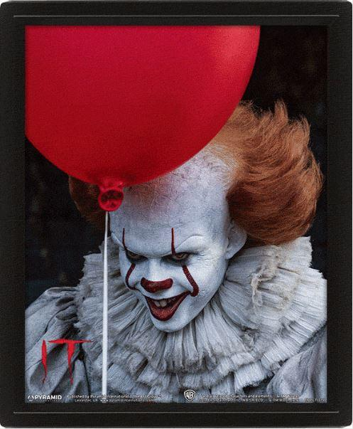 CA - 3D Lenticular Poster 26X20 - Pennywise Evil