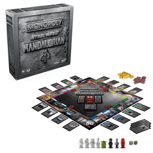 MONOPOLY - Star Wars : The Mandalorian 'Version Anglaise'