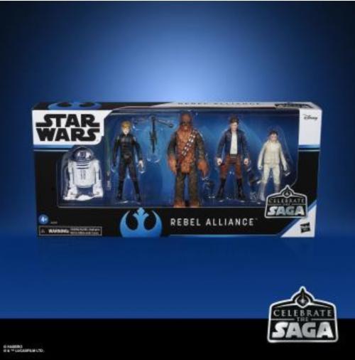 STAR WARS - Celebrate the Saga - Pack de 5 figurines Rebel Alliance