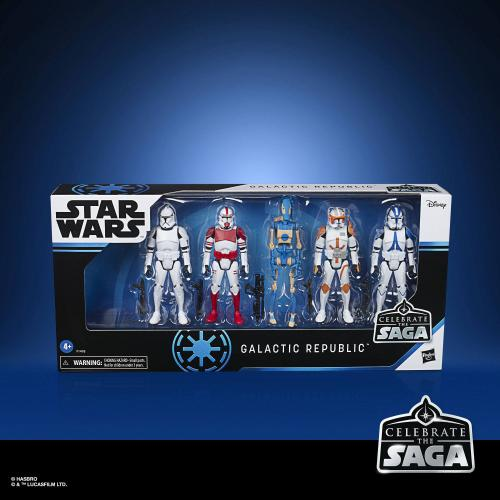 STAR WARS - Celebrate the Saga - Pack de 5 figurines Galactic Republic