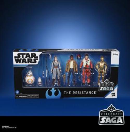 STAR WARS - Celebrate the Saga - Pack de 5 figurines The Resistance